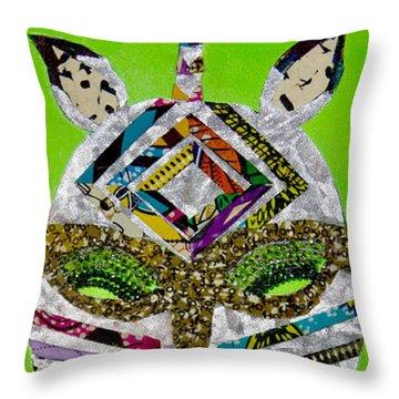 Punda Milia Throw Pillow by Apanaki Temitayo M