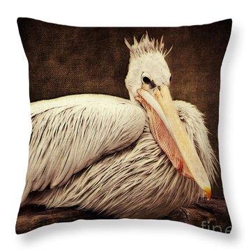 Punky Throw Pillow