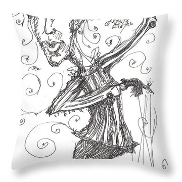 Puppeteer Throw Pillow