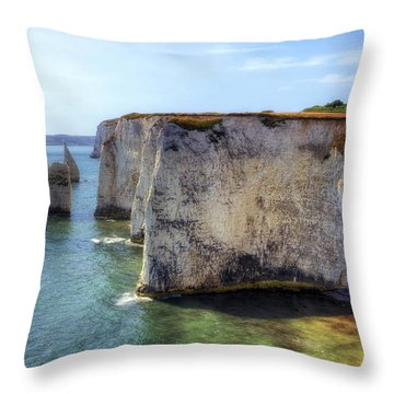 Purbeck - Dorset Throw Pillow by Joana Kruse