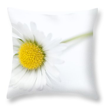 Pure Throw Pillow by Anne Gilbert