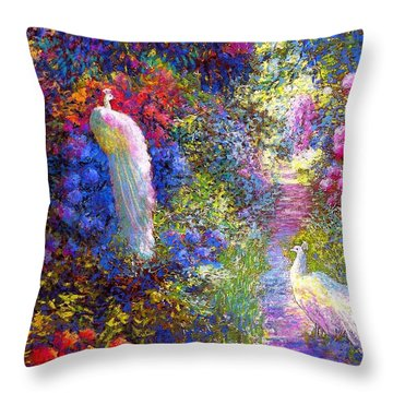 Wild Flowers Throw Pillows