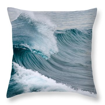 Throw Pillow featuring the photograph Pure Energy by Eddie Yerkish