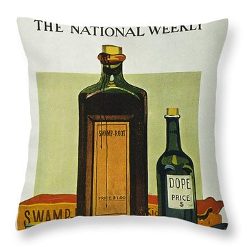 Pure Food Act, 1912 Throw Pillow by Granger