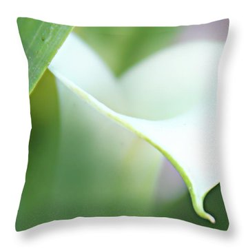 Pure Heart Throw Pillow by Kume Bryant