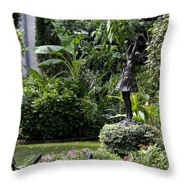 Pure Joy Throw Pillow by Ed Waldrop