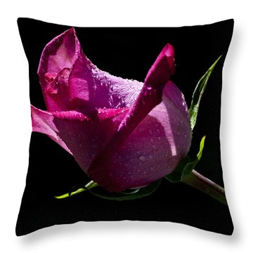 Throw Pillow featuring the photograph Pure Pink by Doug Norkum