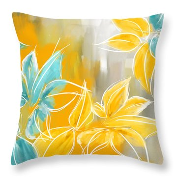 Pure Radiance Throw Pillow