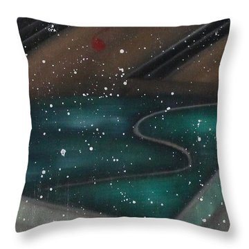 Pureness Throw Pillow