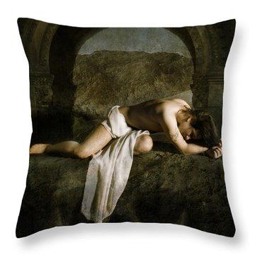 Purgatory Throw Pillow