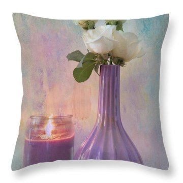 Purity Throw Pillow by Betty LaRue