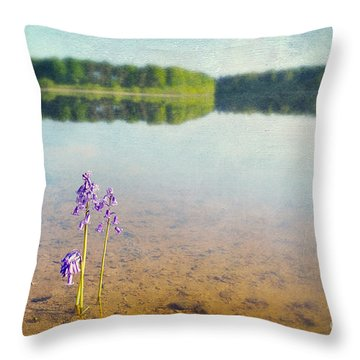 Purity Throw Pillow by Svetlana Sewell