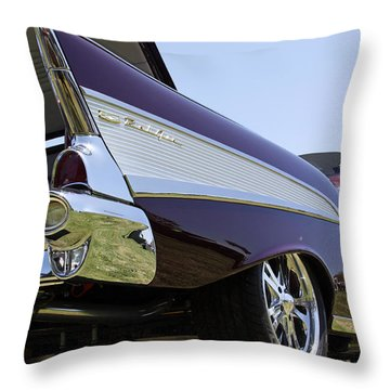 Throw Pillow featuring the photograph Purple And Sexy by Shoal Hollingsworth