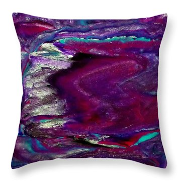 Purple Craze Throw Pillow