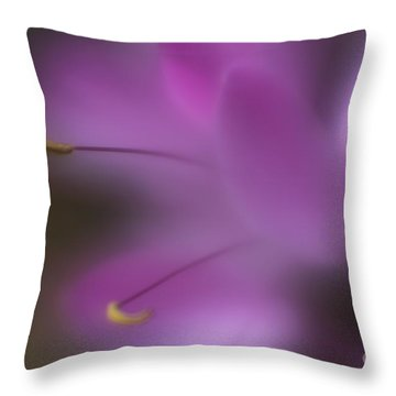 Purple Essence Throw Pillow