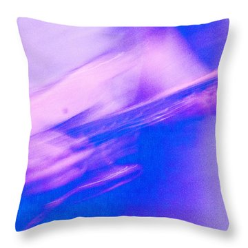Throw Pillow featuring the photograph Purple Haze by Alex Lapidus