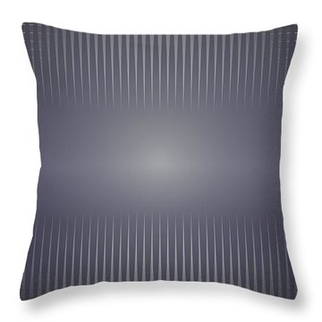 Purple Horizon Throw Pillow by Kevin McLaughlin