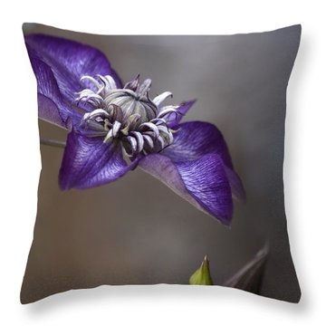 Purple Love Throw Pillow