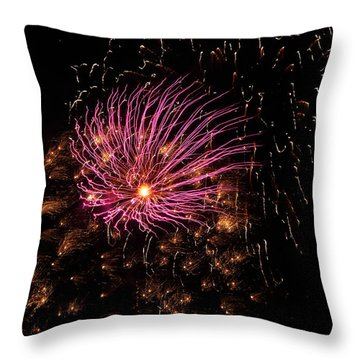 Purple Orbit Throw Pillow by Aimee L Maher Photography and Art Visit ALMGallerydotcom