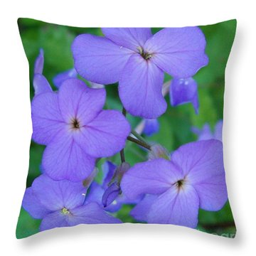 Throw Pillow featuring the photograph Purple Passion by Sara  Raber