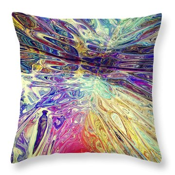 Purple Pepper Trip 022215 Throw Pillow by Matt Lindley