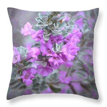 Purple Sage Throw Pillow