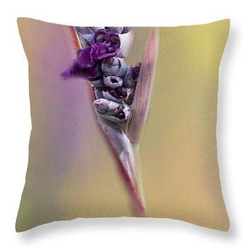 Purplicious Throw Pillow