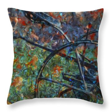Purpose Served 2 Throw Pillow by Jack Zulli