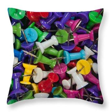 Push Pin Pillow  Throw Pillow