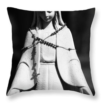 Put My Life In Your Hands  Throw Pillow by Jerry Cordeiro