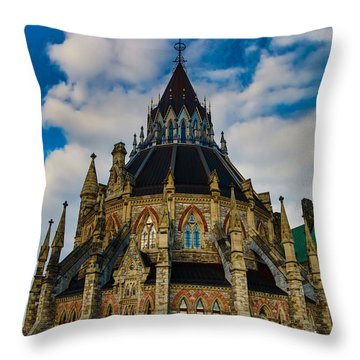Put Your Ball Shoes On Throw Pillow by Eti Reid