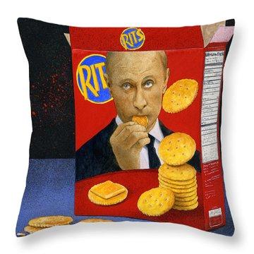 Putin Throw Pillows