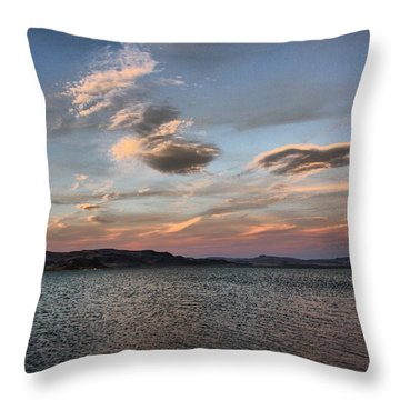 Pyramid Lake Throw Pillow
