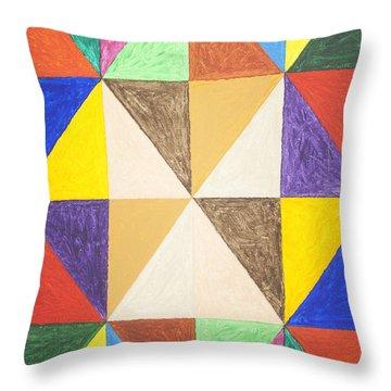 Pyramids 2 Throw Pillow by Stormm Bradshaw