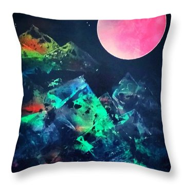Pyramids Of The Universe  Throw Pillow