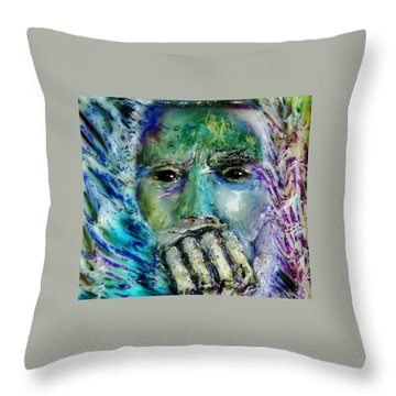 Quadro Inverso Throw Pillow by Bob Money