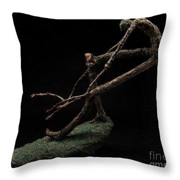 Quake Throw Pillow by Adam Long