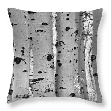 Quaking Aspen Zion National Park Throw Pillow