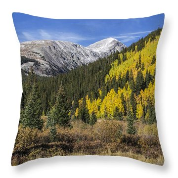 Quandary Peak Throw Pillow