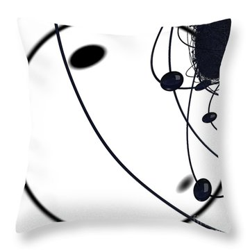 Quantum Dust By Jammer Throw Pillow by First Star Art