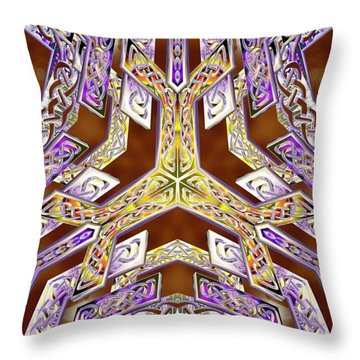 Quantum Legacy Throw Pillow
