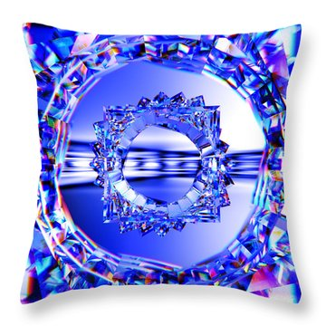 Quantum Light Throw Pillow by Andreas Thust