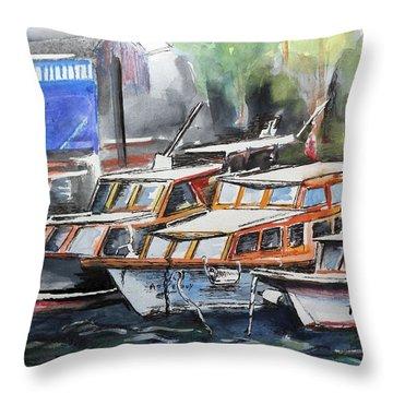 Quayside Throw Pillow