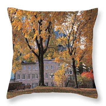 Quebec City Quebec Canada Throw Pillow