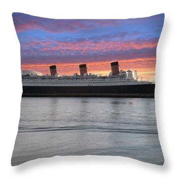 Queen Mary Throw Pillow