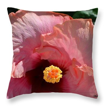 Queen Peace 3 - Signed Throw Pillow