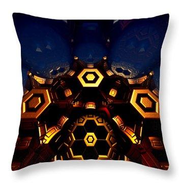 Queen's Chamber Throw Pillow