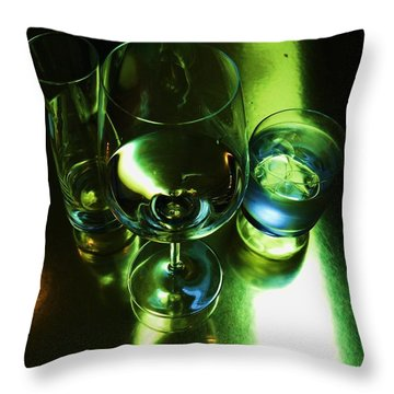 Quench Throw Pillow by Anna Villarreal Garbis