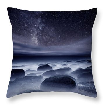 Quest For The Unknown Throw Pillow