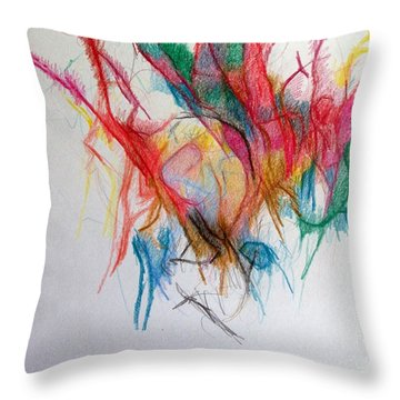 Questions Within Answers 2 Throw Pillow by David Baruch Wolk